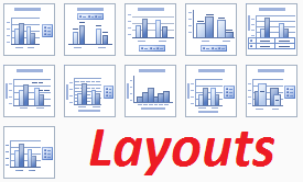 Grafikon layouts