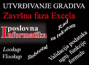 Excel utvrđivanje