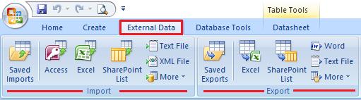 Uvoz i izvoz podataka