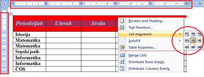 Formatiranje-tabela-zaglavlje