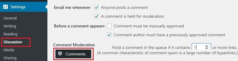 Podešavanje-komentara