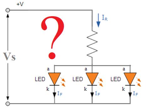 LED nepravilno povezivanje